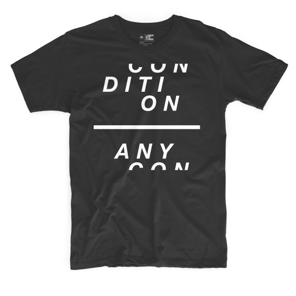 any condition shirt white