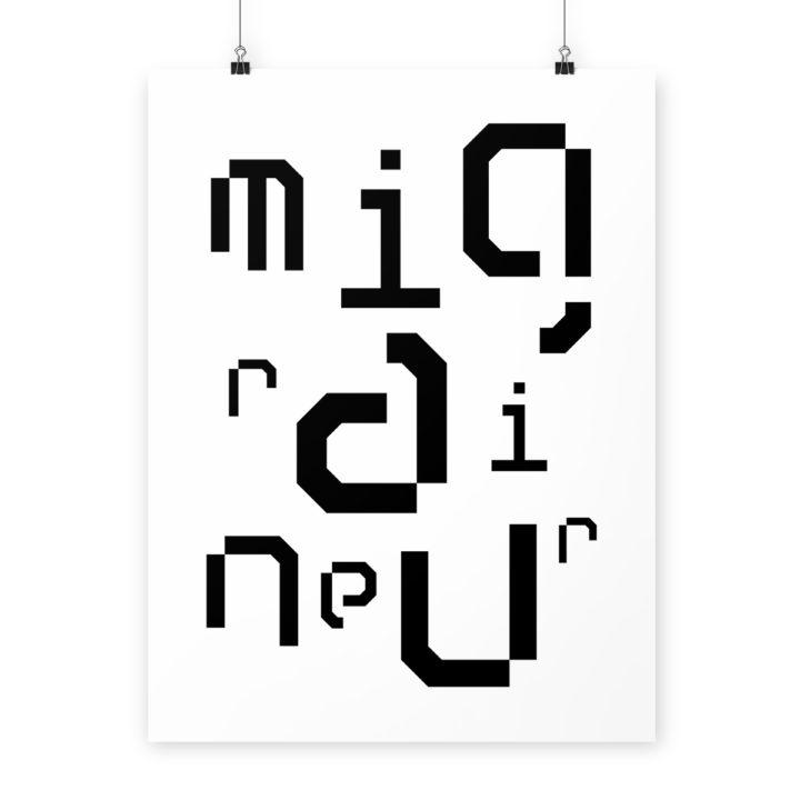 migraineur print