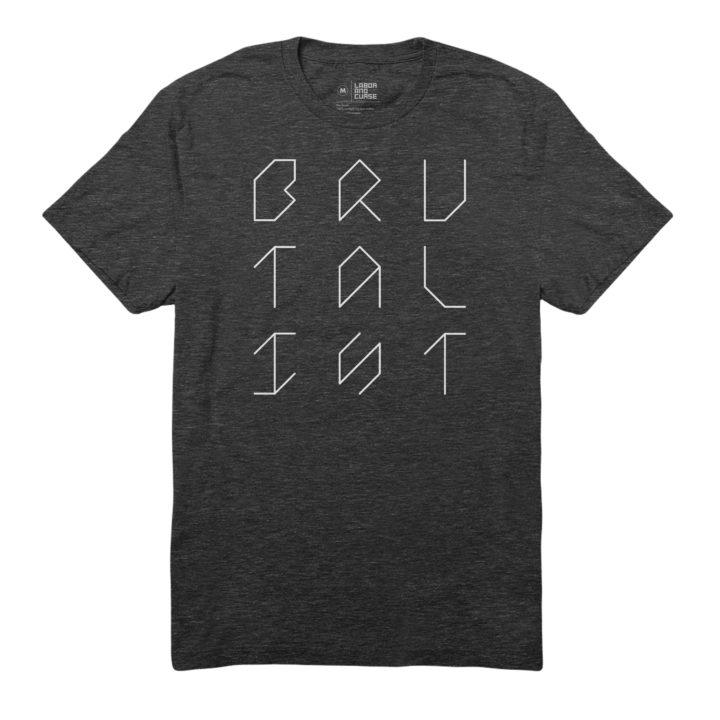 brutalist grid shirt