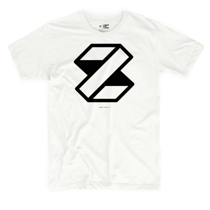 letterform z white shirt